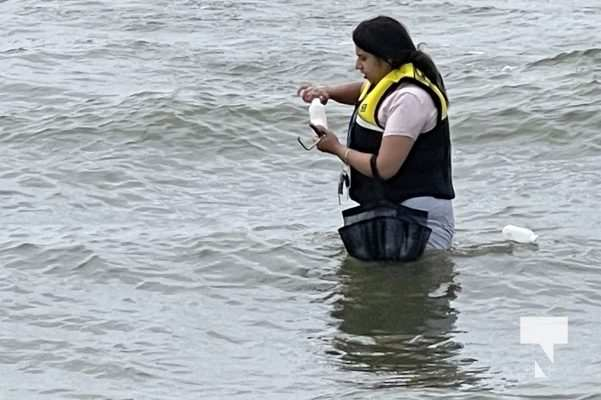 Water Testing Victoria Beach Cobourg July 12, 20213888