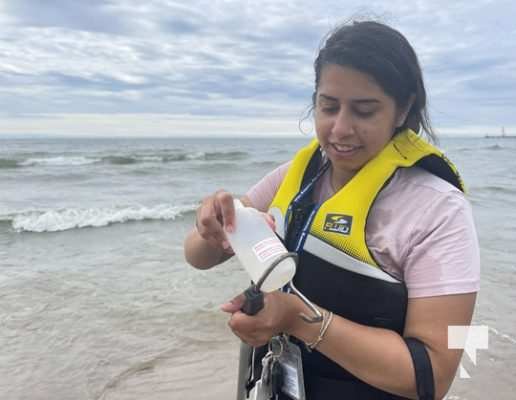 Water Testing Victoria Beach Cobourg July 12, 20213889