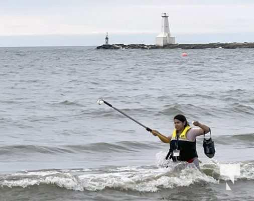Water Testing Victoria Beach Cobourg July 12, 20213891