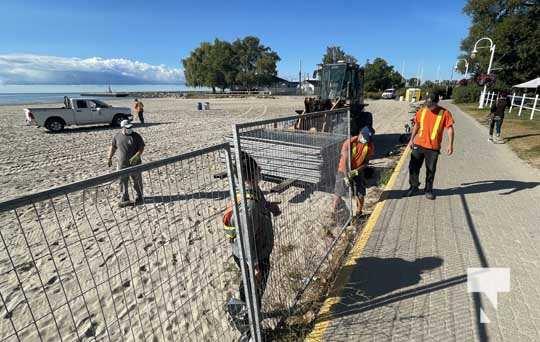 Fence Victoria Beach Cobourg September 7, 20210442