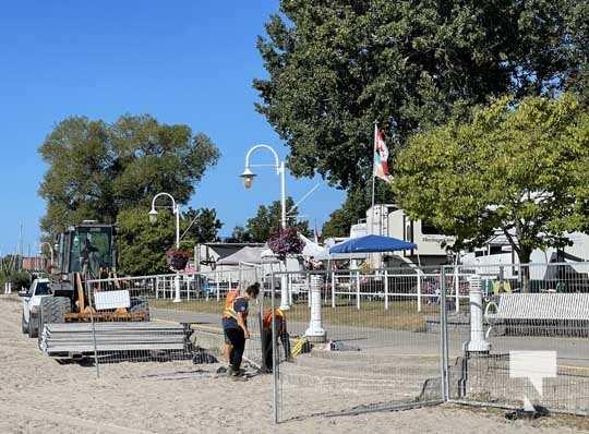 Fence Victoria Beach Cobourg September 7, 20210446
