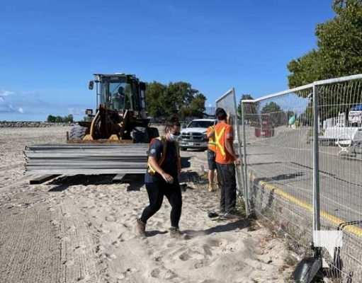 Fence Victoria Beach Cobourg September 7, 20210447